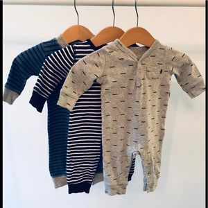 Carter's bodysuits set of 3 , size 3 months